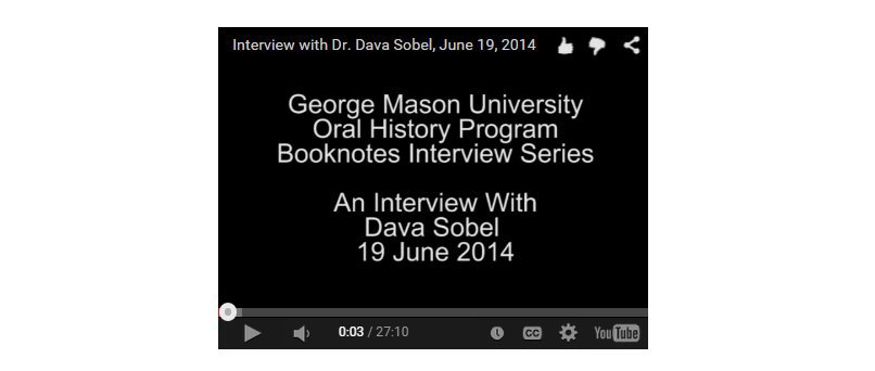 An Interview with Dava Sobel.