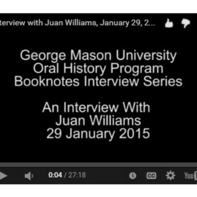 An Interview with Juan Williams.