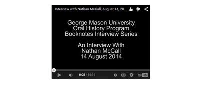 An Interview with Nathan McCall.