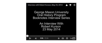 An Interview with Robert Kurson.